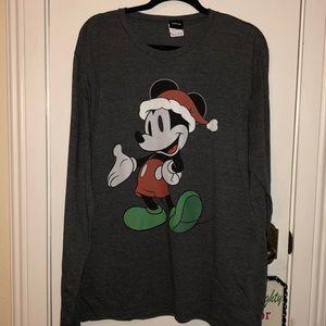 Disney grey Mickey Mouse tee shirt size XL
